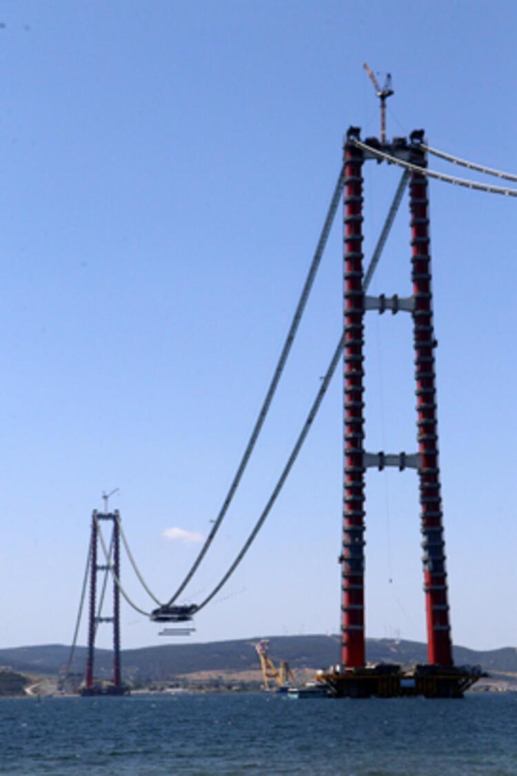 Son dakika... 1915 Çanakkale Köprüsü'nde ilk mega tabliye blok montajı yapıldı 4 – 60f6ccf886b24721407ff896
