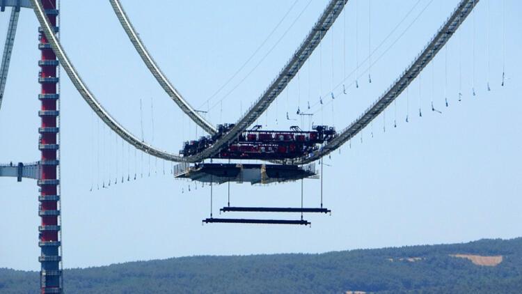 Son dakika... 1915 Çanakkale Köprüsü'nde ilk mega tabliye blok montajı yapıldı 10 – 60f6ccf986b24721407ff8a3
