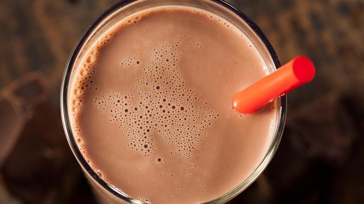 4. Çikolatalı süt