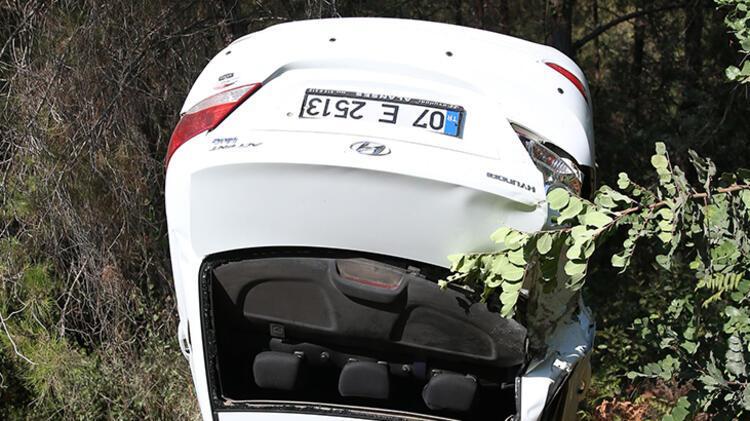Otomobil şarampole yuvarlandı: 4 Rus yaralı 3 – 60feca1b86b2471e405b8f1e