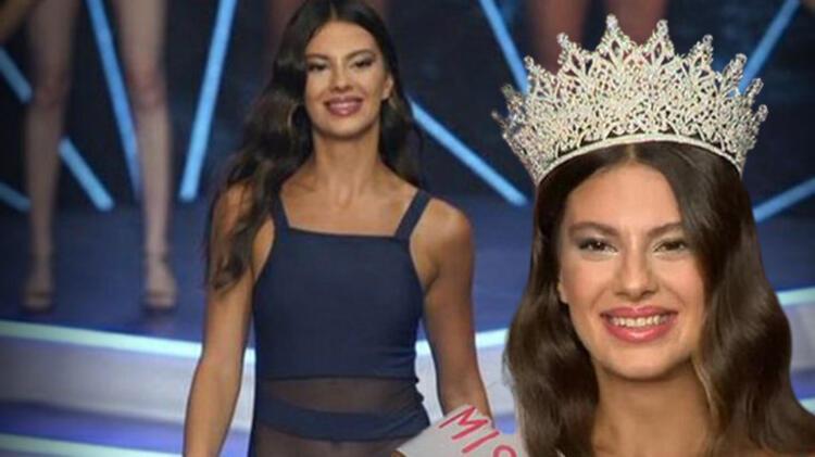 Miss Turkey 2021 birincisi belli oldu İşte kazanan isim