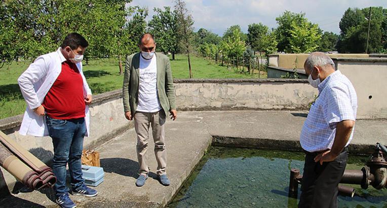 Suyun kokusunda yaşanan değişim, köylüleri endişelendirdi