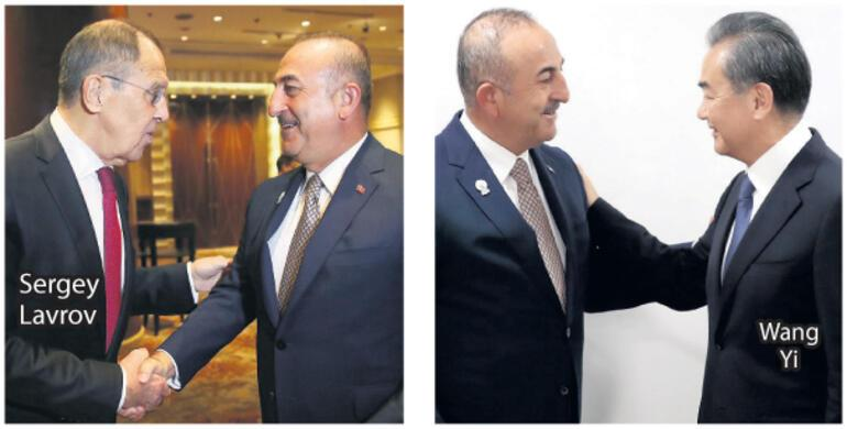 Çavuşoğlu'ndan  yoğun diplomasi