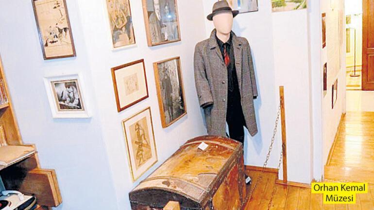 Yazarlardan izler taşıyan müzeler