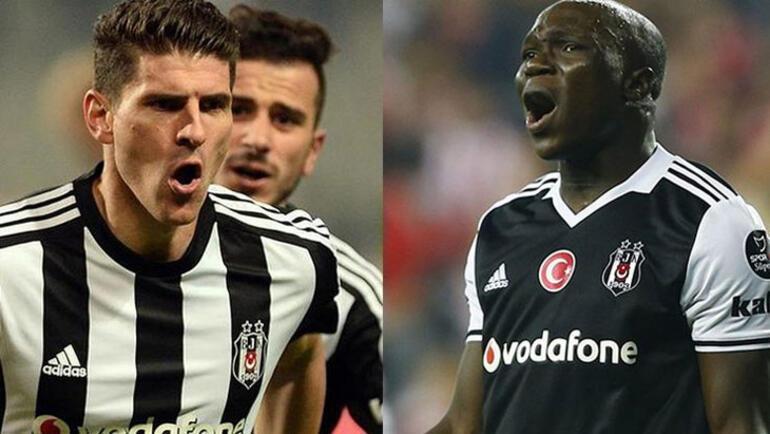 Beşiktaşta Gomez ve Aboubakar yeniden gündem
