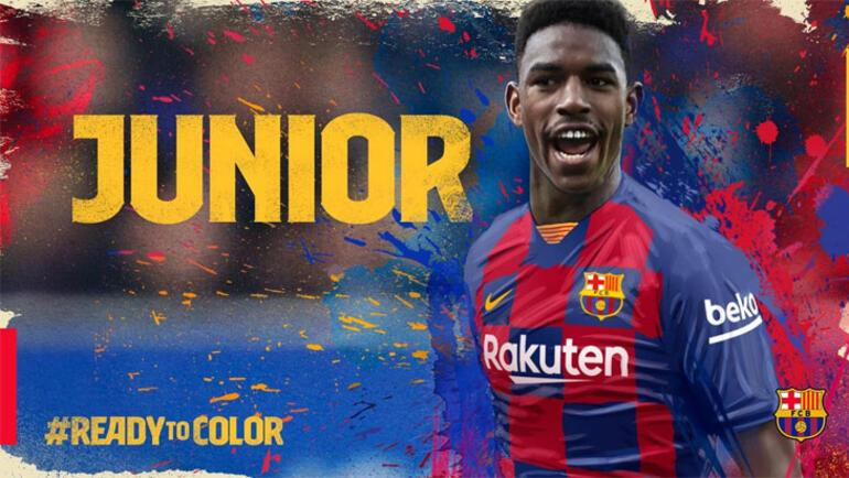 Barcelona, Junior Firpoyu transfer etti