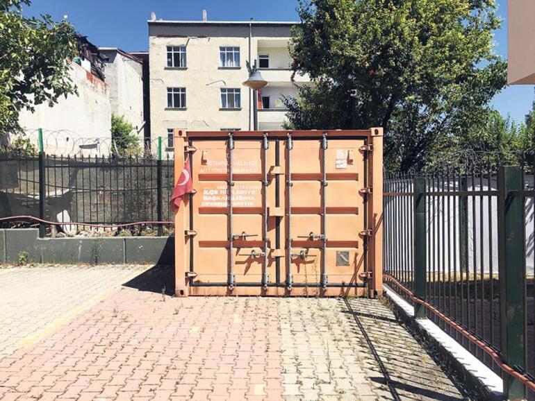Bu konteynerler  hayat kurtaracak