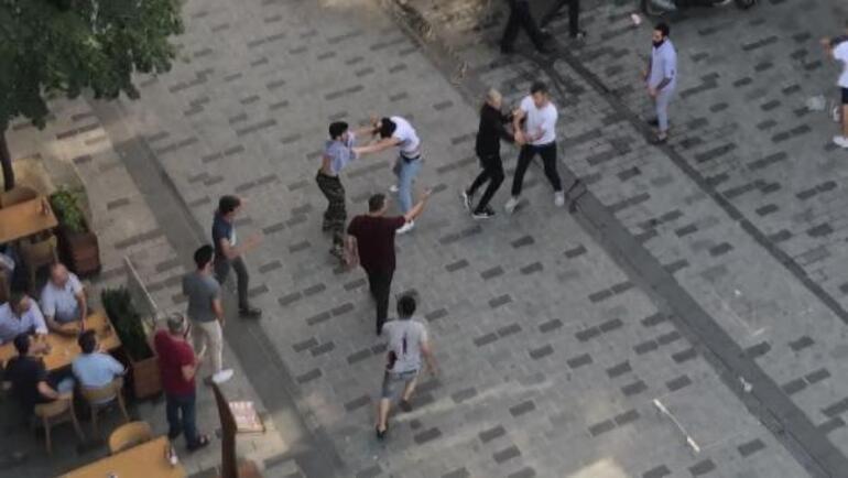 Son dakika: Taksimde hareketli dakikalar Polis müdahale etti