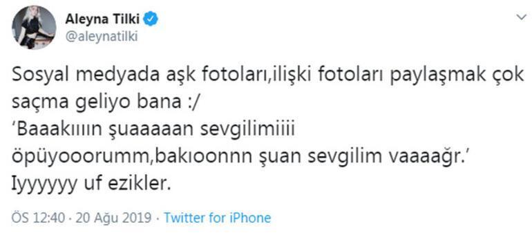 Aleyna Tilki: Iyyy uf ezikler