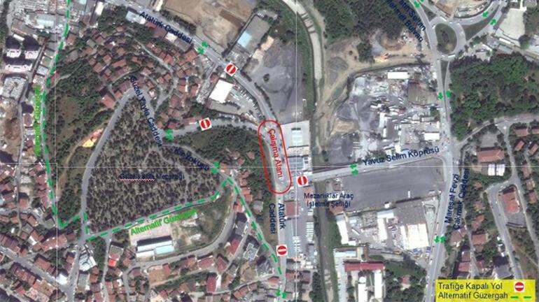 İstanbullular dikkat... O yol 30 gün kapalı
