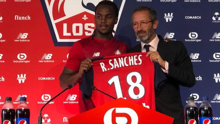 Yusufun takımı Lille, Renato Sanchesi transfer etti