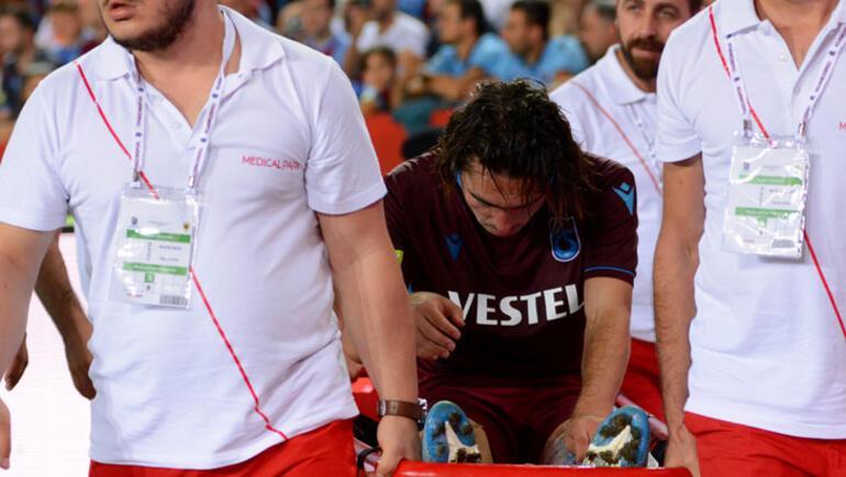 Trabzonspora Abdülkadir Ömürden kötü haber