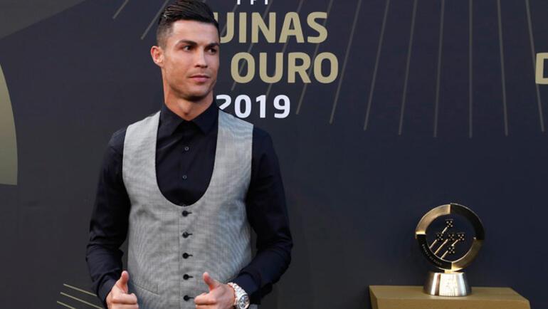 Portekizde yılın futbolcusu Ronaldo