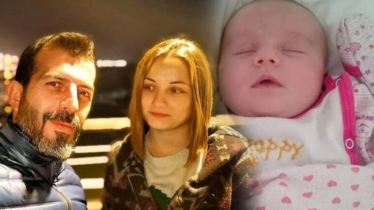 Anne ve 20 günlük bebeği aynı tabutta