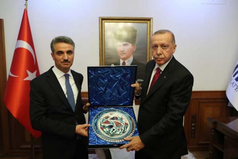 Cumhurbaşkanı Erdoğandan Malatyada güvenli bölge resti