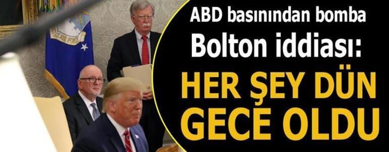 İrandan Bolton açıklaması: Daha az engel kaldı