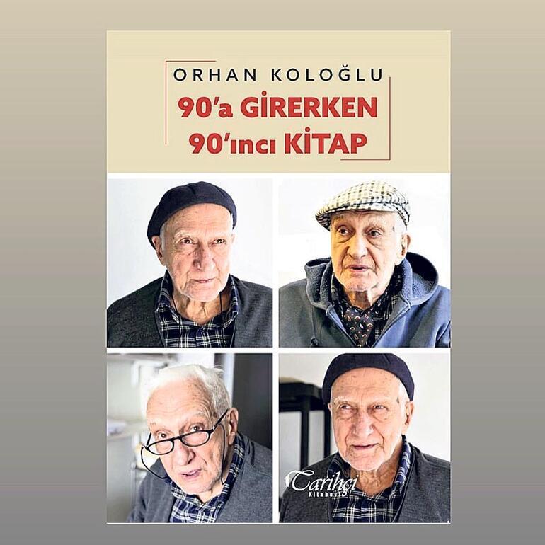 Koloğlu'ndan 90. yaş kitabı