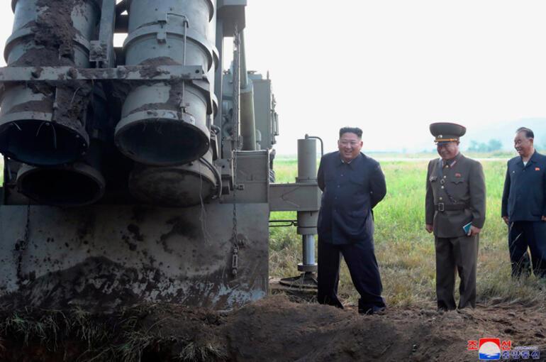 Kuzey Kore: Füzeleri süper büyük çoklu sistemle fırlattık