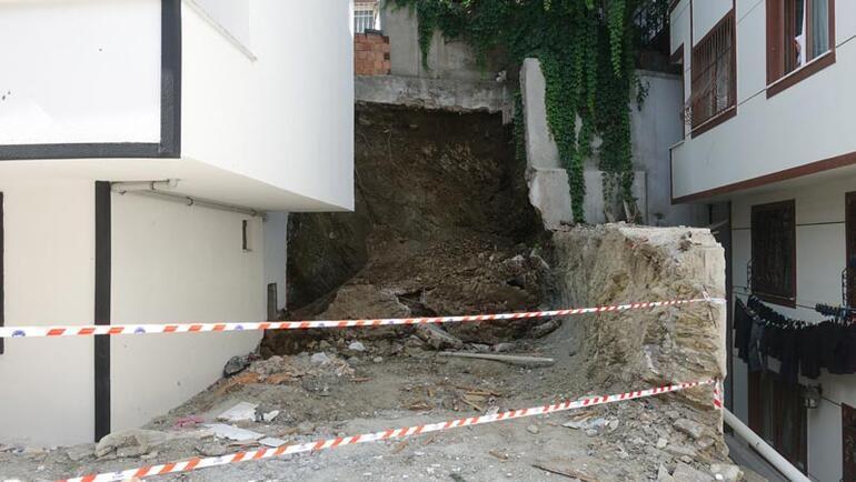 Hemen ekipler geldi 2 bina tahliye edildi