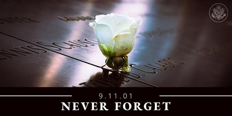 Video yayınladılar 11 Eylülde yaptığımız gibi...