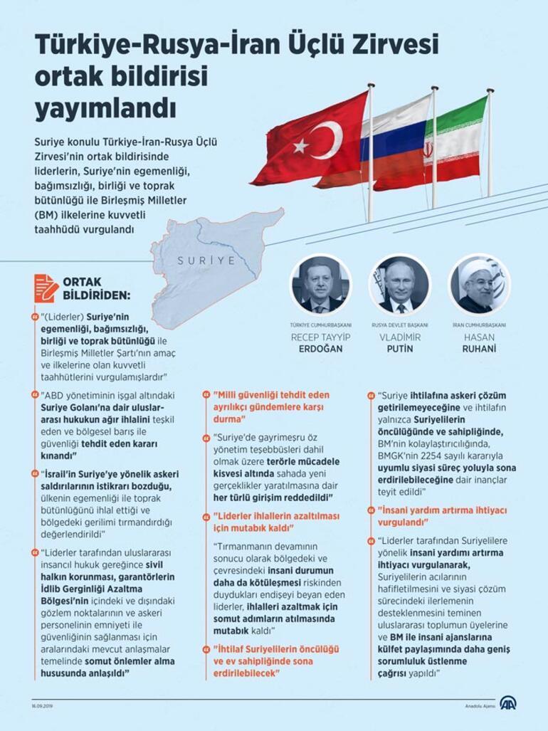 Son dakika | Ankarada üçlü zirve Cumhurbaşkanı Erdoğan: Önemli kararlar aldık
