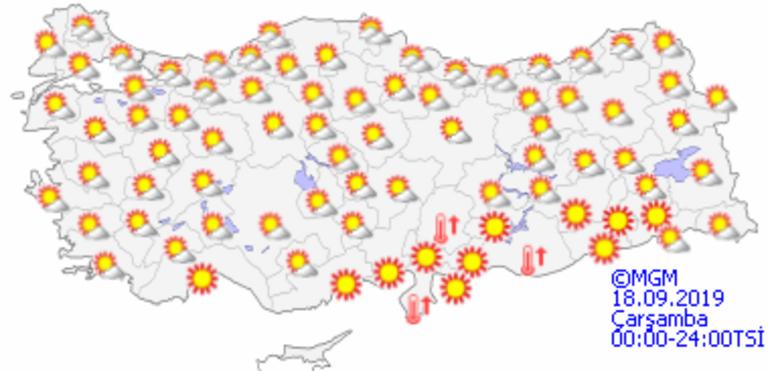 Hava durumu bugün nasıl olacak Meteorolojiden o iller için sağanak uyarısı