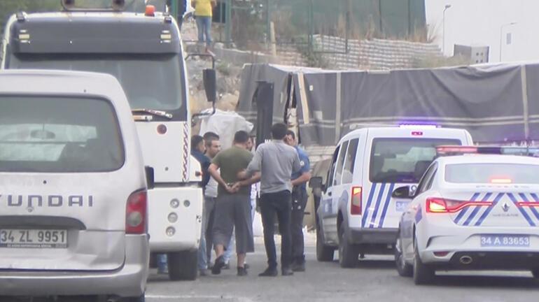 İstanbulda sıcak dakikalar İhbarı alan polis hemen harekete geçti