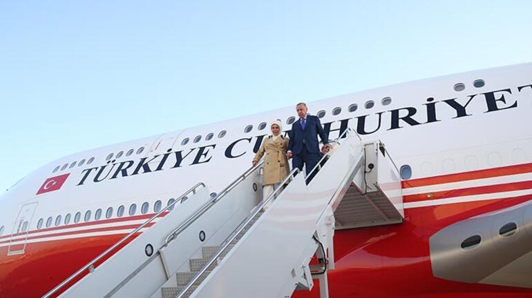 Cumhurbaşkanı Erdoğan ABDye geldi