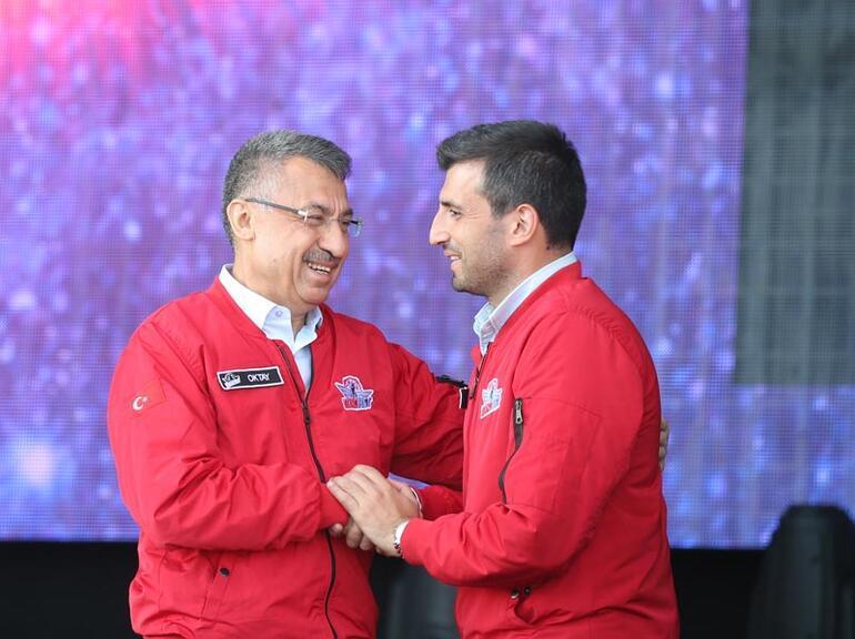 Cumhurbaşkanı Vekili Oktay TEKNOFEST İstanbulun kapanış törenine katıldı