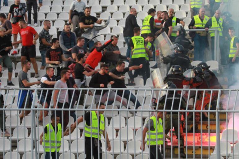 Partizan, Kızılyıldızın fişini 10 dakikada çekti