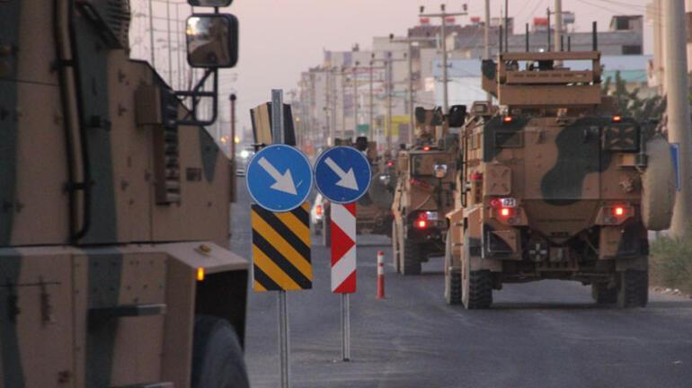 Sınırda sıcak saatler Türk ve ABD zırhlıları Fıratın doğusuna geçti