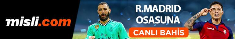 Real Madrid - Osasuna canlı bahis heyecanı Misli.comda