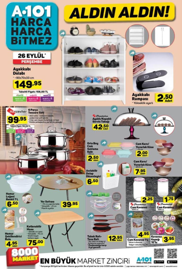 A101 26 Eylül 2019 aktüel ürünler   A101 aktüel ürünler kataloğu