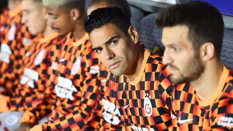 Galatasarayda sıra Falcaoda