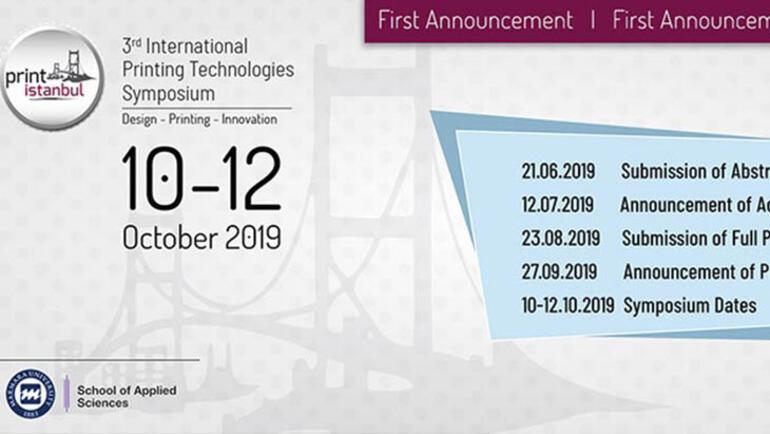 Uluslararası Basım Teknolojileri Sempozyumu (PrintIstanbul 2019)