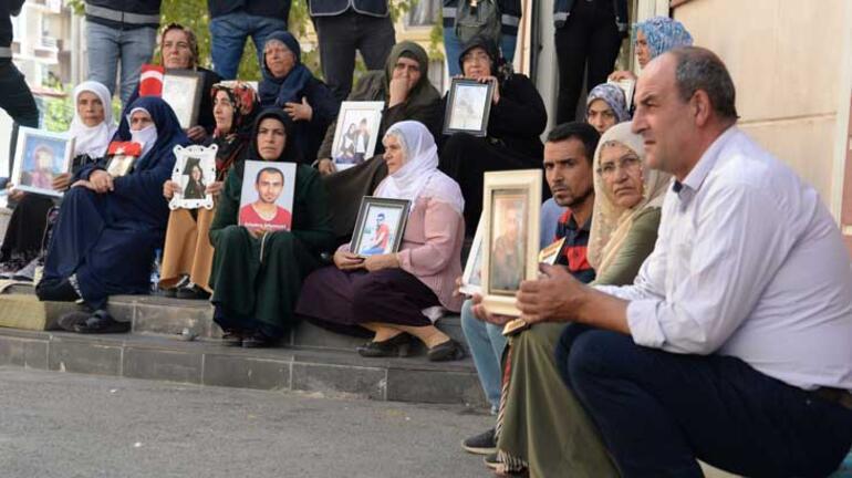 HDP önündeki eylemde 40ıncı gün