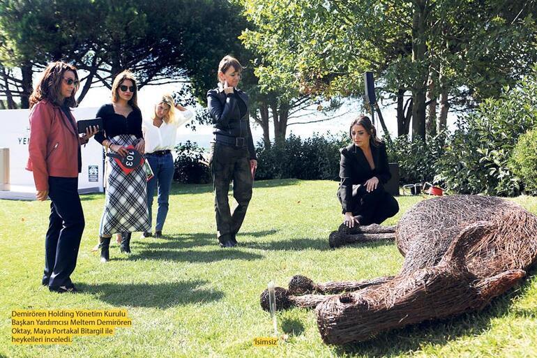 Genç sanatçılara umut veren heykeller