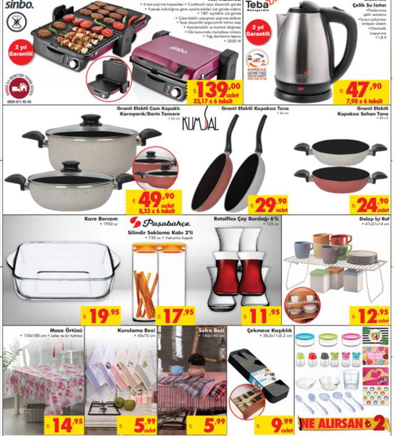 Şok Aktüel ürünler kataloğu 16-22 Ekim ŞOK aküel ürünler