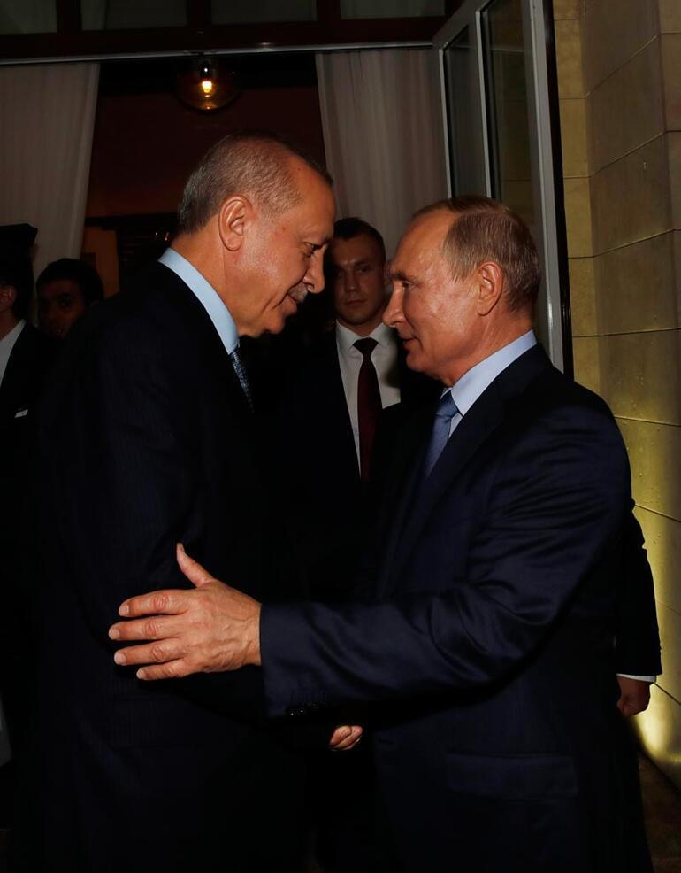 Cumhurbaşkanı Erdoğan Rusyadan ayrıldı
