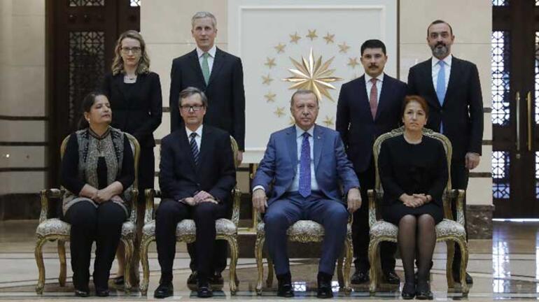 Cumhurbaşkanı Erdoğan, Avusturyanın Ankara Büyükelçisi Wimmerı kabul etti