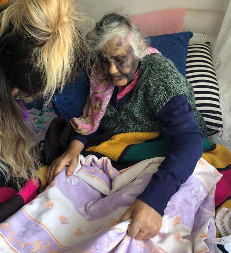 Komşuları polise haber verdi... Yaşlı kadına korkunç işkence