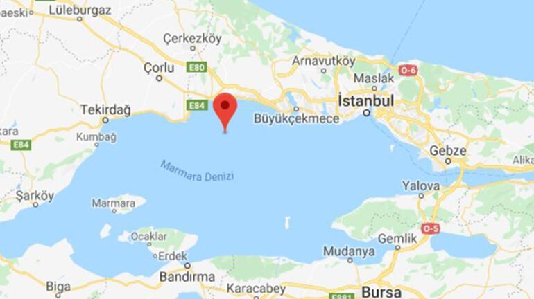 Son dakika... İstanbulda korkutan deprem Büyüklüğü...