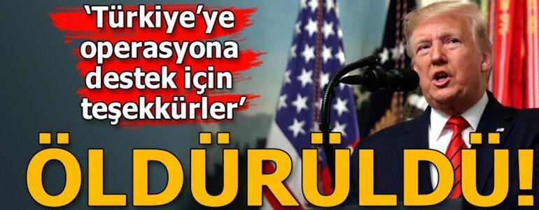 Cumhurbaşkanı Erdoğan: Bağdadinin öldürülmesi dönüm noktası