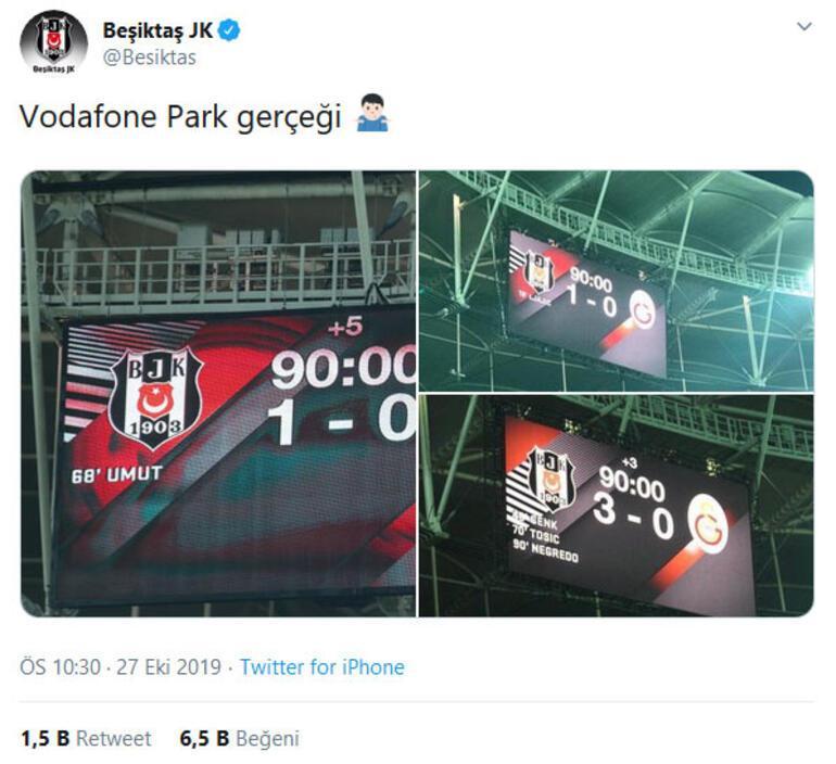 Beşiktaştan Galatasaray göndermesi Falcao...