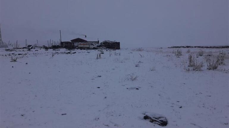 Kar erken düştü Kış çok fena geçecek