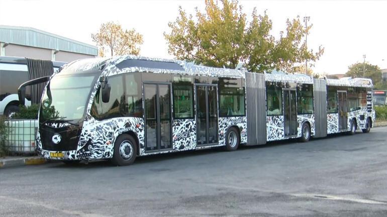 İşte yeni metrobüs