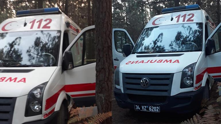 İstanbulda çalınan ambulans bulundu Anıları tazelemek için çalmış...