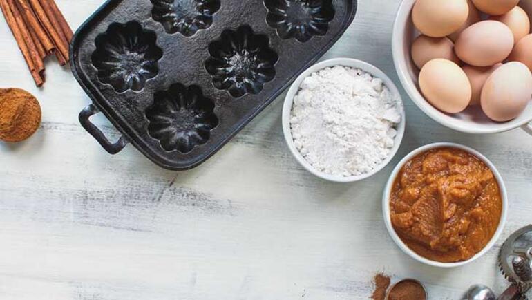 Kakaolu balkabaklı muffin tarifi