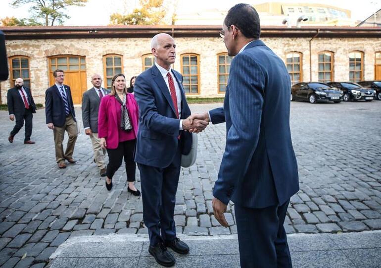 Cumhurbaşkanlığı Sözcüsü Kalın, ABD Temsilciler Meclisi heyeti ile görüştü