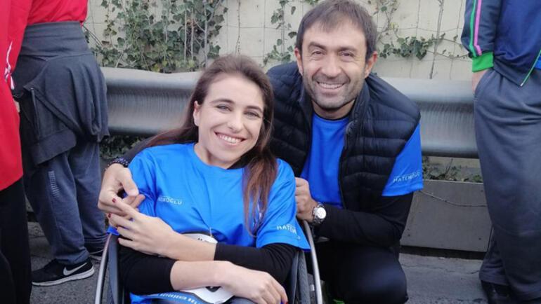 Murat Aksu, TESYEV bursiyerleri için koştu